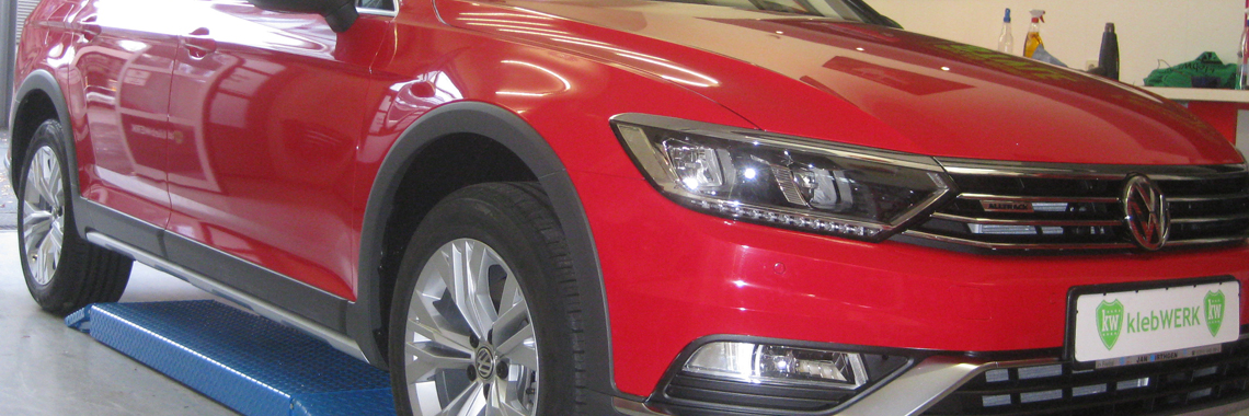 Chilli Rot VW Passat